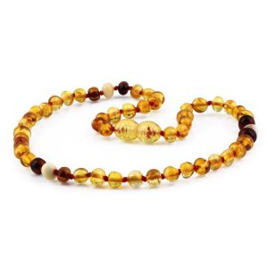 BALTIC AMBER TEETHING NECKLACE. LIMITED EDITION. LE405