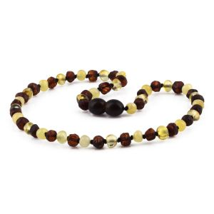 BALTIC AMBER TEETHING NECKLACE. LIMITED EDITION. LE409