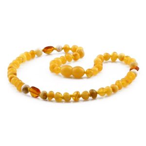 BALTIC AMBER TEETHING NECKLACE. LIMITED EDITION. LE428