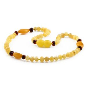BALTIC AMBER TEETHING NECKLACE. LIMITED EDITION. BE212