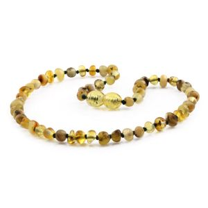 BALTIC AMBER TEETHING NECKLACE. LIMITED EDITION. BE215