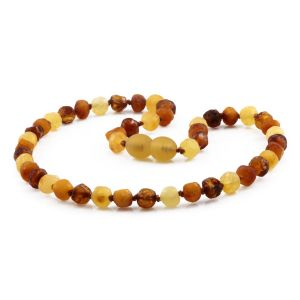 BALTIC AMBER TEETHING NECKLACE. LIMITED EDITION. BE218