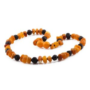 BALTIC AMBER TEETHING NECKLACE. LIMITED EDITION. LE420