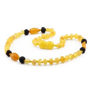BALTIC AMBER TEETHING NECKLACE. LIMITED EDITION. LE421