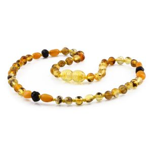 BALTIC AMBER TEETHING NECKLACE. LIMITED EDITION. LE422