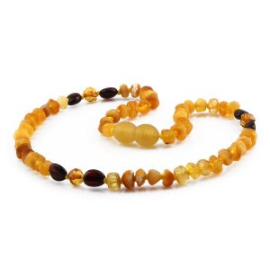 BALTIC AMBER TEETHING NECKLACE. LIMITED EDITION. LE423