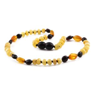 BALTIC AMBER TEETHING NECKLACE. LIMITED EDITION. LE424