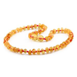 BALTIC AMBER TEETHING NECKLACE. LIMITED EDITION. BE214