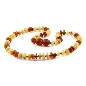 BALTIC AMBER TEETHING NECKLACE. LIMITED EDITION. CE144