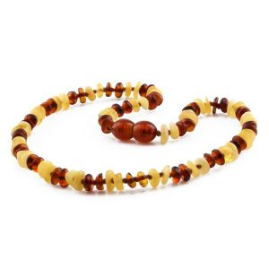 BALTIC AMBER TEETHING NECKLACE. LIMITED EDITION. CE145
