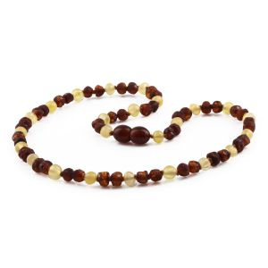 NATURAL BALTIC AMBER JUNIOR NECKLACE. CJN25