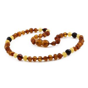 BALTIC AMBER TEETHING NECKLACE. LIMITED EDITION. LE425