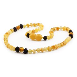 BALTIC AMBER TEETHING NECKLACE. LIMITED EDITION. XLE1