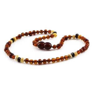 BALTIC AMBER TEETHING NECKLACE. LIMITED EDITION. XLE3