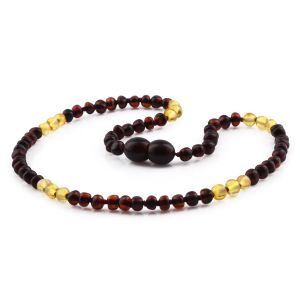 BALTIC AMBER TEETHING NECKLACE. LIMITED EDITION. XLE4