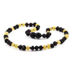 BALTIC AMBER TEETHING NECKLACE. LIMITED EDITION. XLE6