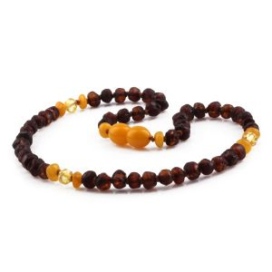 BALTIC AMBER TEETHING NECKLACE. LIMITED EDITION. XLE7