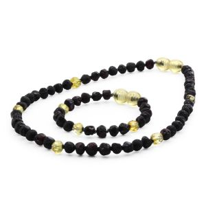 BALTIC AMBER SET FOR KIDS. LIMITED EDITION. BE189