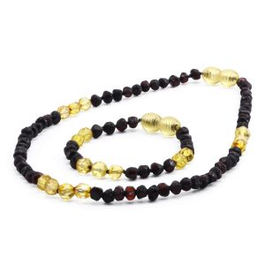 BALTIC AMBER SET FOR KIDS. LIMITED EDITION. LE386