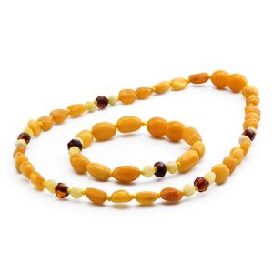 BALTIC AMBER SET FOR KIDS. LIMITED EDITION. BE194