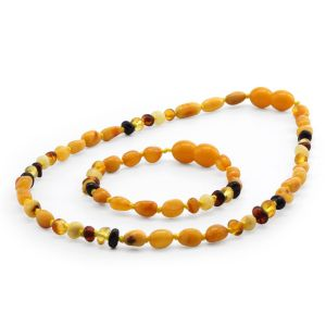 BALTIC AMBER SET FOR KIDS. LIMITED EDITION. LE396