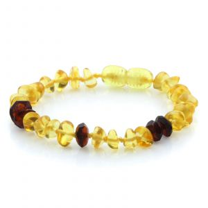 Baltic Amber Teething Bracelet. Limited Edition LE37