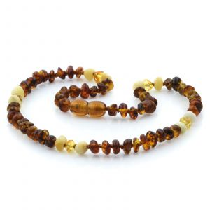 Baltic Amber Teething Necklace. Limited Edition LE23