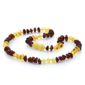 Baltic Amber Teething Necklace. Limited Edition LE29