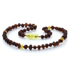Baltic Amber Teething Necklace. Limited Edition LE30