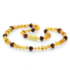 Baltic Amber Teething Necklace. Limited Edition LE25