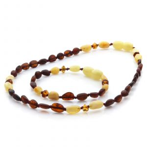 baltic amber teething necklaces bracelet sets
