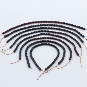 Natural Baltic Amber Loose Beads Strings Set of 8pcs. 20gr. ST1007