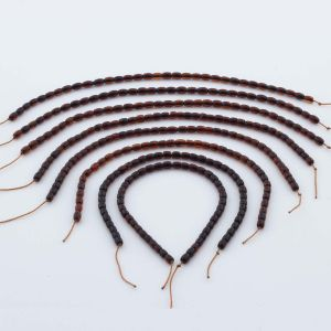 Natural Baltic Amber Loose Beads Strings Set of 8pcs. 19gr. ST1013