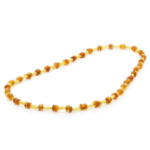 80cm Long Genuine Baltic Amber Necklace for Adult. AGS010