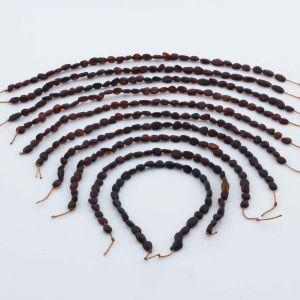 Natural Baltic Amber Loose Beads Strings Set of 10pcs. 21gr. ST1021