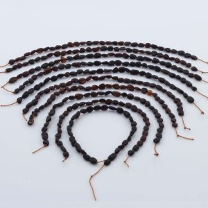 Natural Baltic Amber Loose Beads Strings Set of 10pcs. 21gr. ST1024