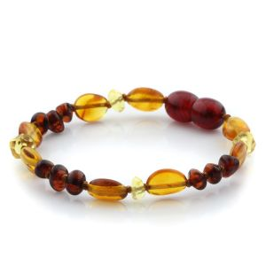 Baltic Amber Teething Bracelet. Limited Edition LE20