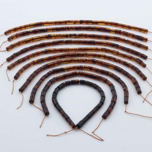 Natural Baltic Amber Loose Beads Strings Set of 10pcs. 48gr. ST1050