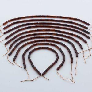 Natural Baltic Amber Loose Beads Strings Set of 10pcs. 32gr. ST1051