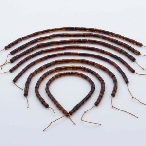Natural Baltic Amber Loose Beads Strings Set of 8pcs. 29gr. ST1052