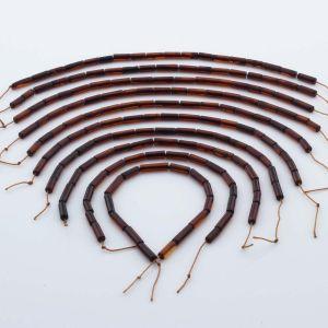 Natural Baltic Amber Loose Beads Strings Set of 10pcs. 33gr. ST1053