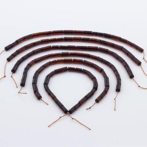 Natural Baltic Amber Loose Beads Strings Set of 6pcs. 27gr. ST1062