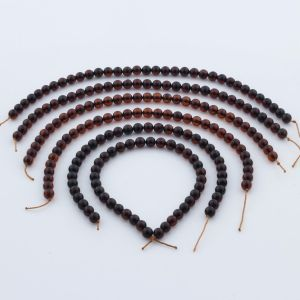 Natural Baltic Amber Loose Beads Strings Set of 6pcs. 25gr. ST960