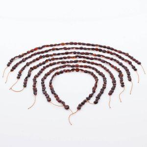 Natural Baltic Amber Loose Beads Strings Set of 7pcs. 28gr. ST782