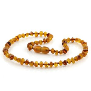 Natural Baltic Amber Junior Necklace. MDL 41A