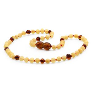 BALTIC AMBER TEETHING NECKLACE. LIMITED EDITION. LE404
