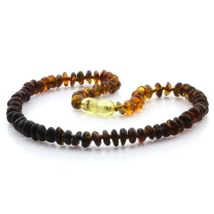 Baltic Amber Teething Necklace. Limited Edition LE54