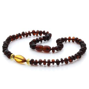 Baltic Amber Teething Necklace. Limited Edition LE45