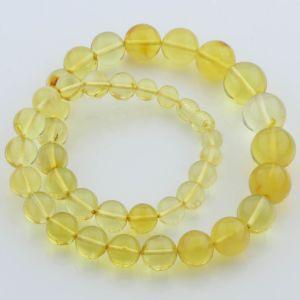 Natural Baltic Amber Necklace 32gr. 45cm FBR19