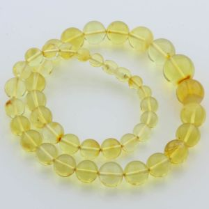 Natural Baltic Amber Necklace 40gr. 49cm FBR24
